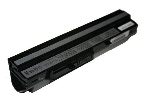 vhbw Batterie pour LG X110 X-110 Netbook Notebook Ordinateur Portable SUBNOTEBOOK 6600mAh 11.1V Noir Black
