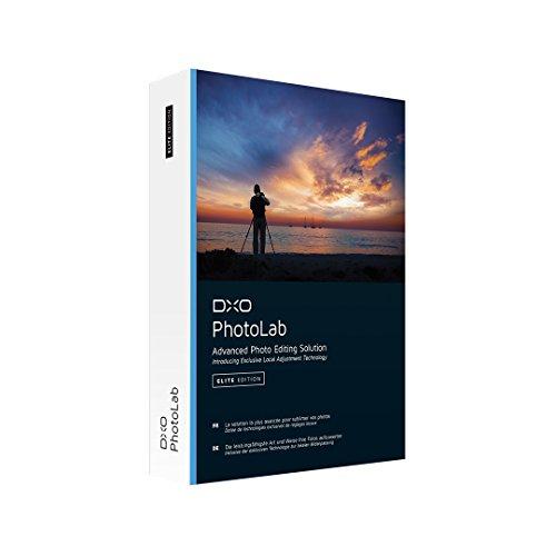 DxO PhotoLab|Elite Edition|3 appareils|100 Années|PC/Mac|Disque