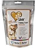 Barker and Barker Dog Training Treats - Medium Liver Treats (1000 treats - pouch)