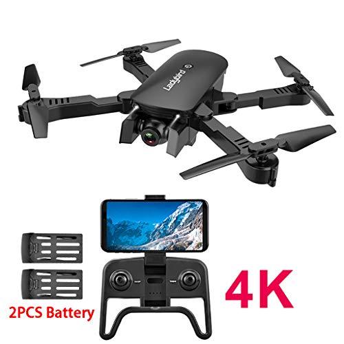 MONDHAUS Drohne mit Kamera HD 2.4Ghz 4CH Attitude Hold 4K WiFi Optischer Fluss Dual Camera RC Quadcopter Drone