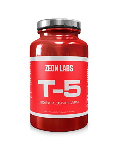 Zeon Labs T5 Extreme Fat Burner 60 Capsules Original T5 Fat Burners Uk Manufactured Best Slimming Diet Pills Super Strong T5s Weight Loss