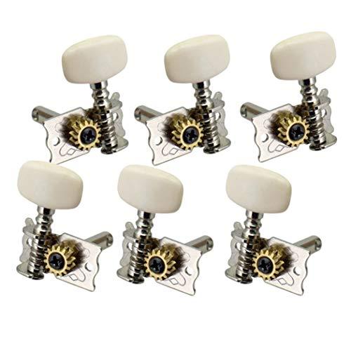 Teste A Zündkerzen-Umschalter für die Gitarre Dell'-Getriebe mit 6 Schlüsseln für die Ersatzteile von Gitarre klassische Akustikgitarre