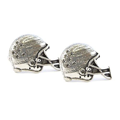 Design: American Football Helm, Englisches Zinn, mit Geschenkschachtel ()