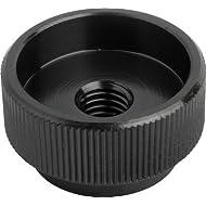 Rändelmuttern aus Stahl M10 DIN 6303 Form B