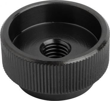 Rändelmuttern aus Stahl M8 DIN 6303 Form B