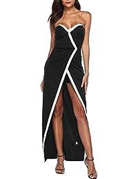 Vestido Ropa Vestidos S Strapless es Mujer Amazon 5wBqUU