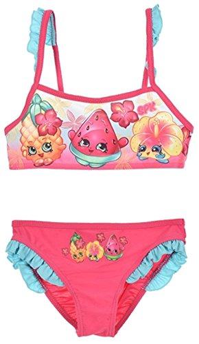 Stück Kostüme 2 Schwimmen (Shopkins Mädchen Schwimmen Kostüm / 2 Stück Bikini. (4 Jahre (104 cm),)