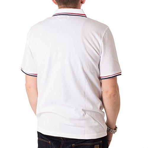 Converse Herren Poloshirt Core Solid White (weiss) White