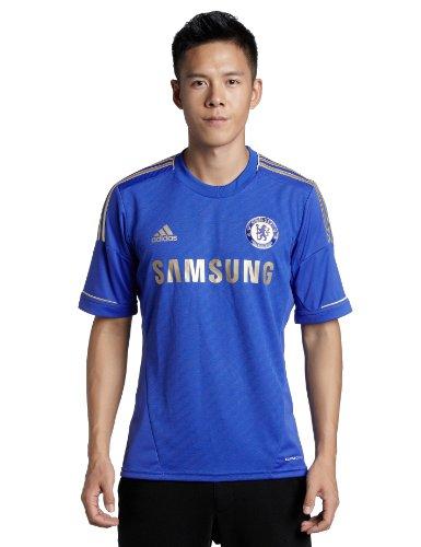 adidas Herren Trikot Chelsea FC Home,  cfc reflex blue/light football gold (),  XXL,  X23745 (Training Trikot Chelsea)