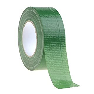 Fabric Adhesive Tape 50 M x 48 MM Gaffer Tape Duct Tape Adhesive Fabric Tape, Green