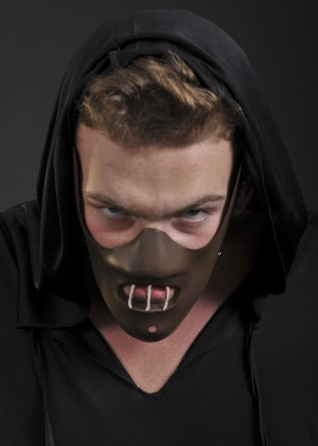 Deluxe braun Hannibal Halloween (Maske Hannibal)