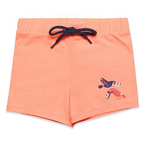 Mädchen Neon Coral (ESPRIT KIDS Mädchen Knit Shorts, Orange (Neon Coral 327), (Herstellergröße: 116+))