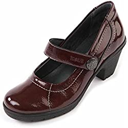 Suave Kate rot Komfort, Casual, Mary Janes, PUMPS, rot - rot - Größe: 40 2/3 EU