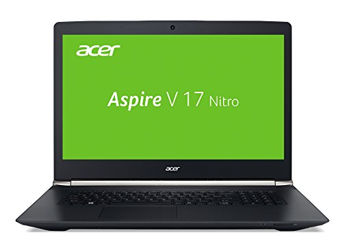 Acer Aspire V 17 Nitro (VN7-792G-7788) 43,9 cm (17,3 Zoll Full HD IPS) Notebook (Intel Core i7-6700HQ, 3,5GHz, 8GB DDR4-RAM, 1TB SSHD, NVIDIA GeForce 945M, DVD, Win 10 Home) schwarz