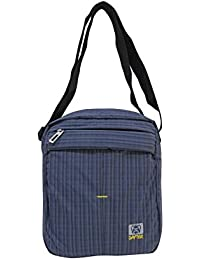 Dafter Travel Sling Bag - Greyish Water Resistance Polyester Bag With Multiple Pockets And Padded Section For...