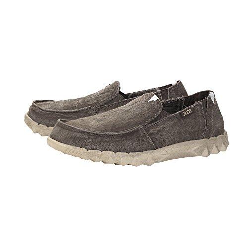 Dude Shoes Herren-Farty Schlamm Rutschen auf Gewaschen/Maultier Braun