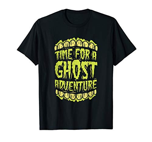 Time for A Ghost Adventure Halloween Tshirt (T Shirt Halloween)