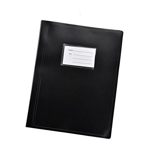 Arpan A4Flexicover 62Taschen 124/Seiten Pocket Display Book Präsentation Ordner–flexible Cover A4 schwarz (Klare Seite Portfolio)