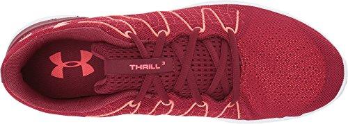 Under Armour Herren UA Thrill 3 Laufschuhe Cardinal/White/Marathon Red