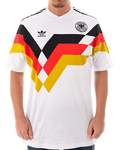 ADIDAS Germany JSY Deutschland WM Trikot Trikot weiß M
