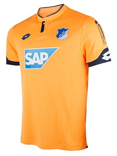 FanSport24 Lotto Fußball TSG 1899 Hoffenheim 3rd Trikot 2017 2018 Herren Ausweichtrikot orange Größe XL
