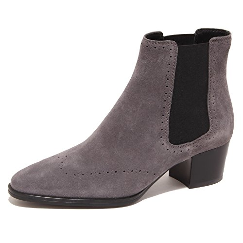 3327P tronchetto TOD'S GOMMA XC TRONCH. ELAST. BUCATURE grigio boot woman Grigio