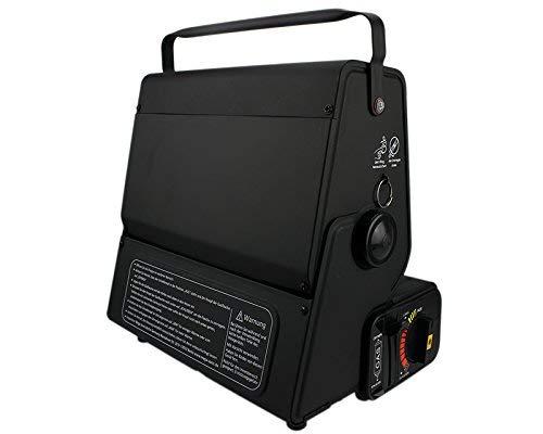 Portable Camping hervidor 2,3/kW/ /Cocina de gas con 4/x Cartuchos de Gas Ph/önix PH de K01/Cocina de gas Cruz 12/x 12/cm Malet/ín