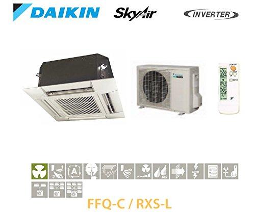 DAIKIN CASSETTE ENCASTRABLE A 4VIAS DE SOPLADO INVERTER FFQ60C