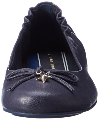 Tommy Hilfiger Damen A1285PPLETON 13A Ballerinas Blau (Tommy Navy)