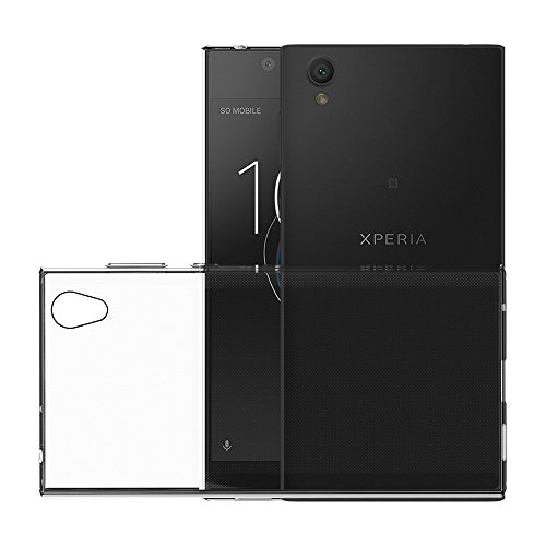 SS Tech case for Sony Xperia L1 {2017} Crystal Clear Soft Gel TPU Bumper Case/Anti-Scratch Clear Back [Drop Protection/Shock Absorption Technology]
