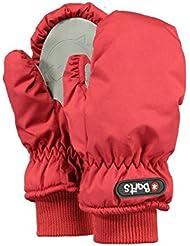 Barts Nylon Mitts - Guantes Niñas, Rojo (Rot), 1 (Talla del fabricante: 1)