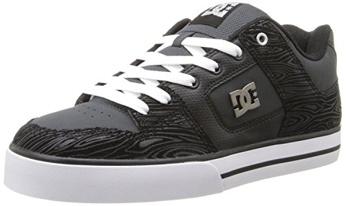 dc-pure-xe-grey-black-white-leather-mens-skate-trainers-shoes-boots-9