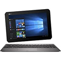"Asus T101HA-GR030T PC Portable 2-en-1 Tactile 10.1"" Métal (Intel Atom, 4 Go de RAM, EMMC 128 Go, Windows 10) Clavier AZERTY Français"
