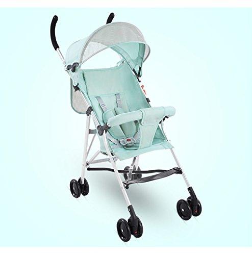 &Baby Kinderwagen Kinderwagen Leichter Regenschirm Portable Folding Einfache Babywagen Kinderwagen Mini Kinder Trolley