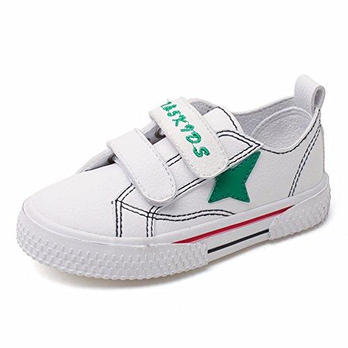 Unisex Kids Flat Shoes School Fashion Boys Girls Velcro Sneakers Lightweight Running 4-16 Jahre Kinder Trainer Boys-school-sneakers