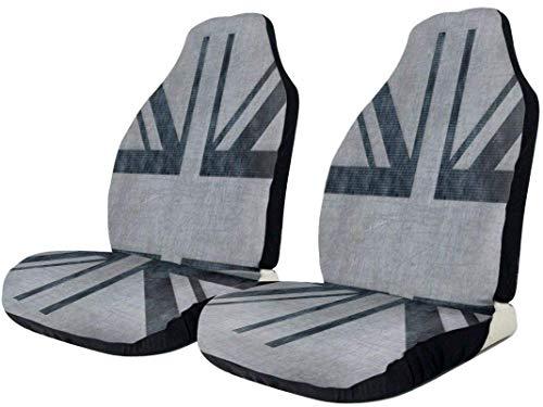 Union Union Flag Coprisedili per auto Cuscino per auto universale antiscivolo Cuscino per seggiolino auto traspirante a prova di sporco con cinghie elastiche Proteggi seggiolino auto antiru