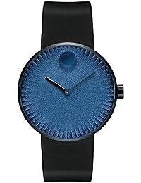 Movado Men's Edge 40mm Silicone Band IP Steel Case Swiss Quartz Watch 3680145