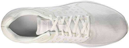Nike Downshifter 7, Chaussures de Course Homme, Red 648 Blanc (White/Pure Gris Platinum)