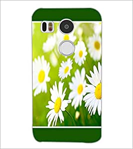 PrintDhaba Flowers D-1434 Back Case Cover for LG NEXUS 5X (Multi-Coloured)