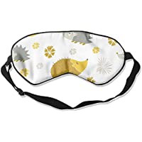 Eye Mask Eyeshade Cute Hedgehog Sleeping Mask Blindfold Eyepatch Adjustable Head Strap preisvergleich bei billige-tabletten.eu
