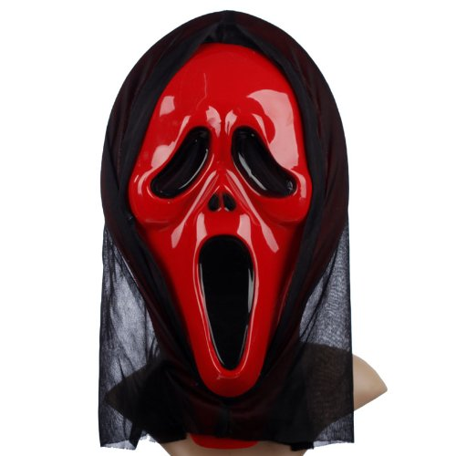 FYX Halloween kostüm Mask Terrorist Maske horror Cosplay Scream Ghostface (2#)