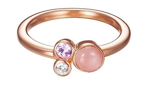 Esprit Damen-Ring Silber vergoldet Zirkonia sweet parfait weiß