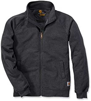 Carhartt weatshirt idweight ock Neck Zip weatshirt Carbon Heather-XX