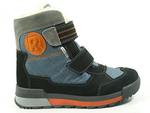Ricosta 56-30700 Kiehn Schuhe Stiefel Weite weit Sympatex Schwarz