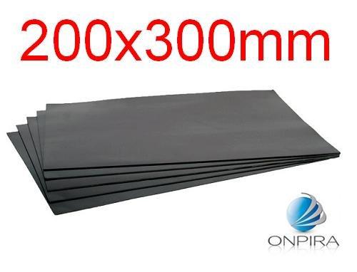5X 0,5mm Magnetbogen Magnetplatte Magnetfolie Magnettafel Magnetschild Magnet