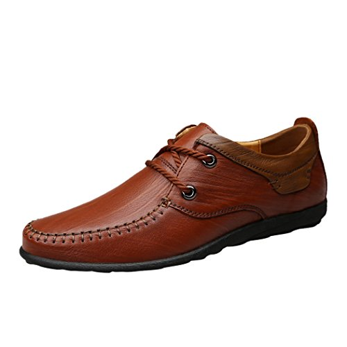 spades-clubs-mens-genuine-leather-fashion-casual-style-trendy-2-eyelet-loafer-lace-flat-shoes-size-6