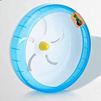 DreamAuro Jumbo Cage Attachment Running Cum Jogging Cum Exercise Wheel for Hamster, Dwarf, Gerbil, Mice and Mouse (17.5…