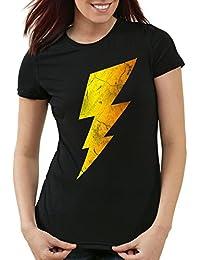 CottonCloud Sheldon Lightning Bolt Camiseta para Niños T-Shirt 8b15a86b483