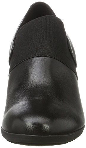 Geox Damen D Inspiration Wedge A Pumps Schwarz (Black)