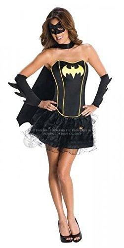 Costume sous licence femelle-batgirl- Taille M (Batgirl Erwachsene Plus Kostüme)
